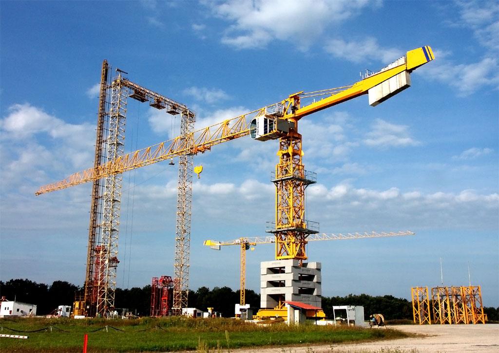 Основные виды кранов (строительных)