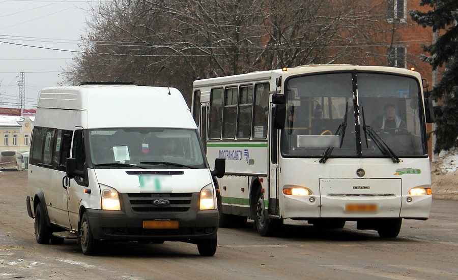 Виды маршрутных автобусов