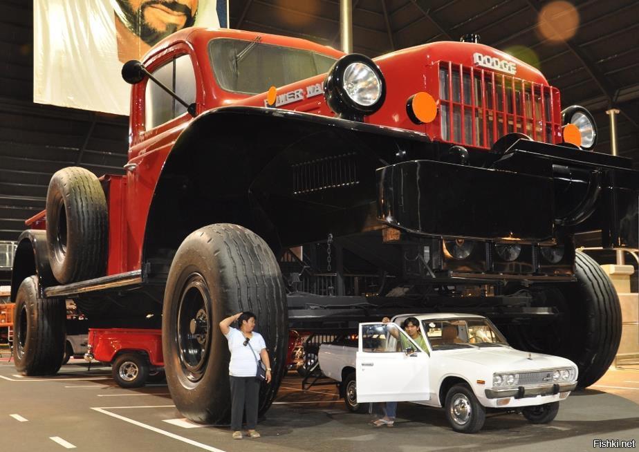 10 самых больших машин в мире