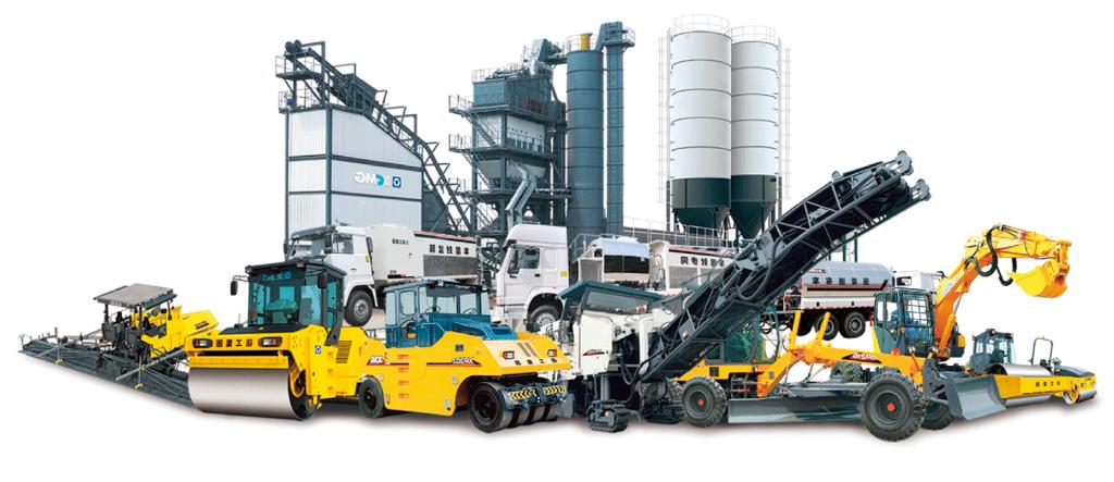 Дорожно-строительное оборудование