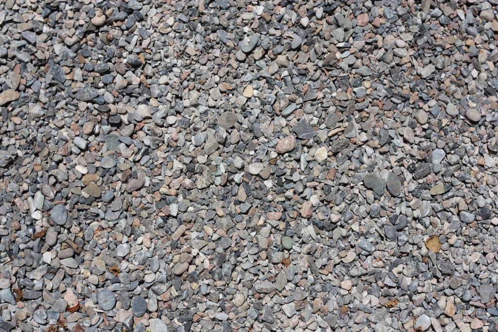Получение каменного щебня из материалов горных пород